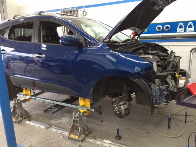 Frame repairs
