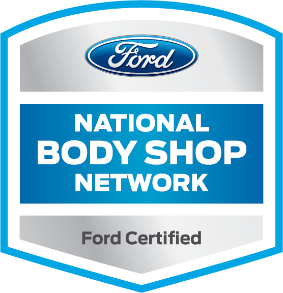 Ford certified body shop logo